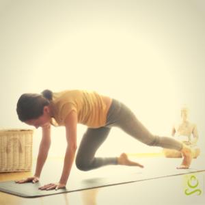 yoga para la columna